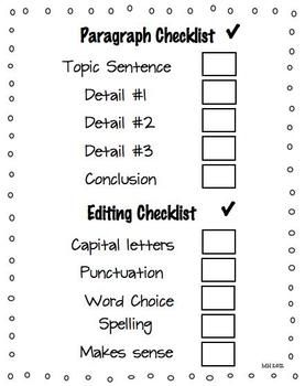 checklist process essay Revision checklist does the essay have a clear and concise main idea key characteristics of the composing process: focusing revising is as important as writing.