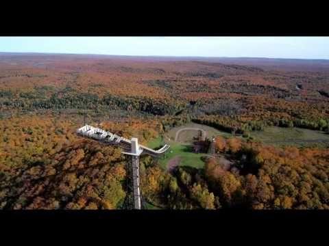 Copper Peak – Ski flying and ski jumping in Ironwood, Michigan, USA – Ski Flying facility in Ironwood, Michigan