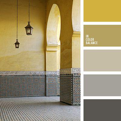 бежево-желтый цвет, горчично-желтый, горчичный цвет, графитовый серый, желто-бежевый цвет, желтый, желтый и серый, насыщенный серый, палитра интерьерных красок, палитра красок для ремонта, подбор цвета для ремонта, светло