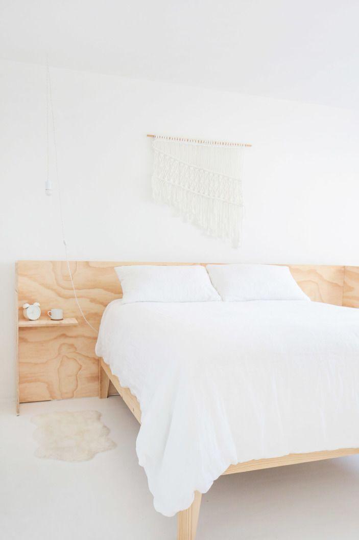 Our Designer S Ultra Minimal Live Work Space Master Bedroom