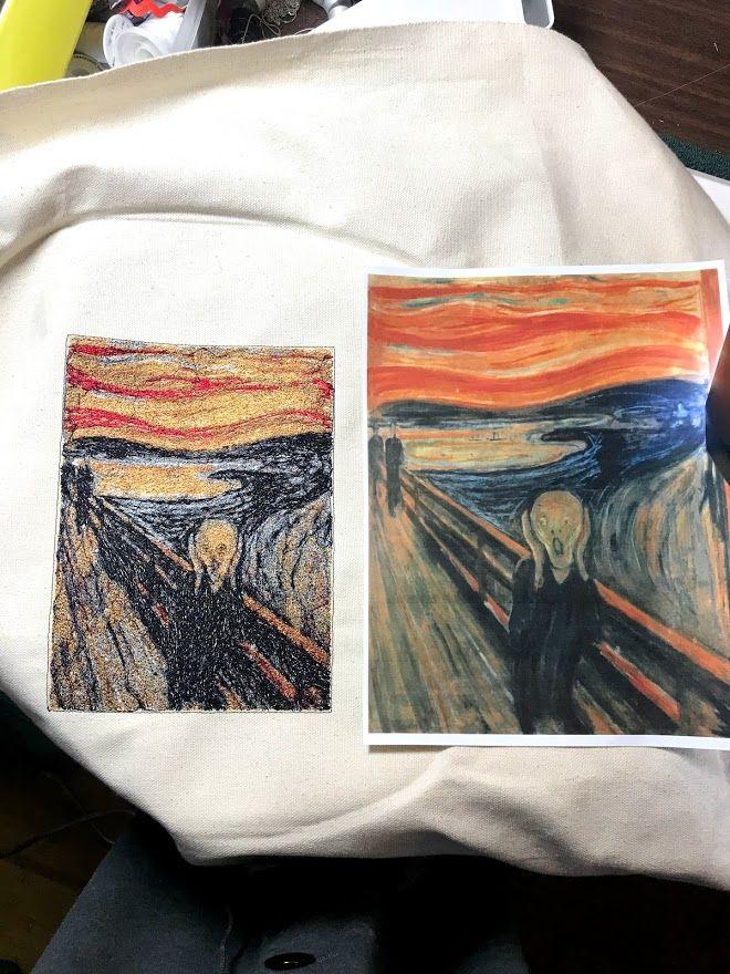 Edvard Munch - The Scream | Things I've Made | Custom