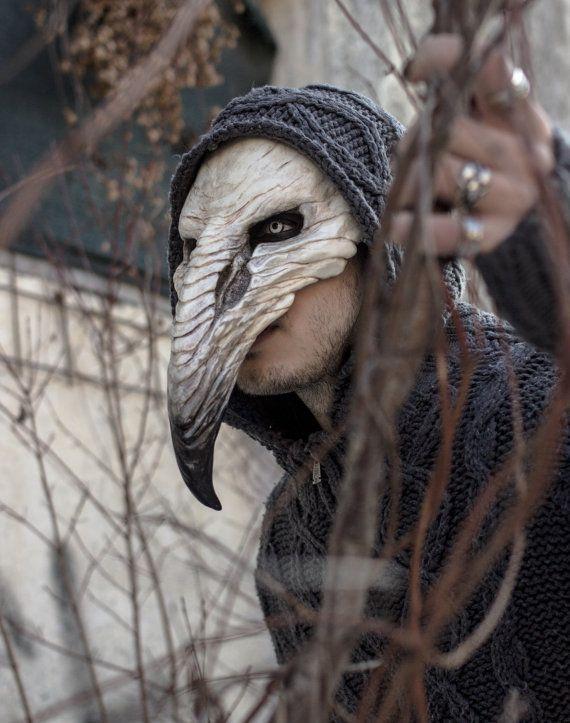 Pestilenz-Krähenmaske – #masks #PestilenzKrähenm…