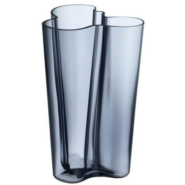 Iittala Aalto Finlandia Vase (1.055 DKK) ❤ liked on Polyvore featuring home, home decor, vases, iittala vase, modern home decor, iittala, modern sculpture and modern home accessories