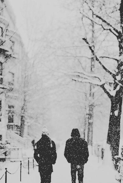 Walks in the snow