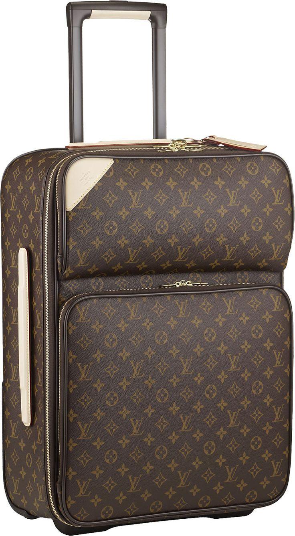 Louis Vuitton Pegase 55 Monogram Canvas, rolling carry on