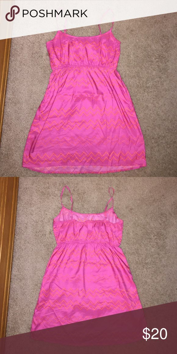 Lightweight Roxy Pink Sundress Lightweight Roxy Pink Sundress. Size L. I wore it once! Very soft, comfortable and flowy! Very good condition. Roxy Dresses