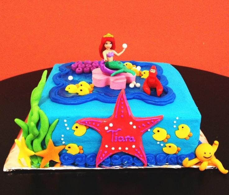 Cake Decoration Alexandria : 71 best Little Mermaid Party images on Pinterest