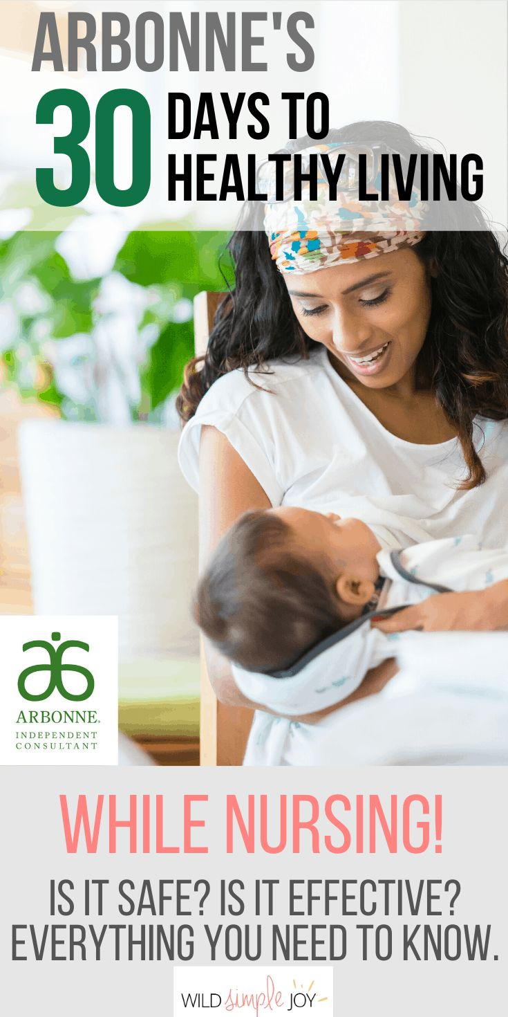 Arbonne S 30 Days To Healthy Living While Nursing In 2020