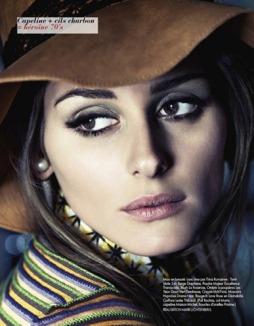 Olivia Palermo photographed by David Burton for Elle France No. 3464, May 18, 2012