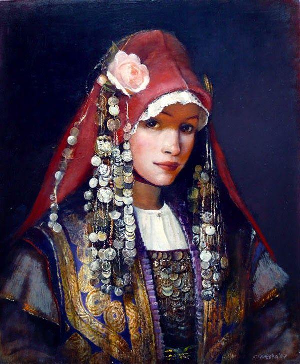 Il mondo di Mary Antony: I ritratti di donne bulgare in costume di Snejana Slavova