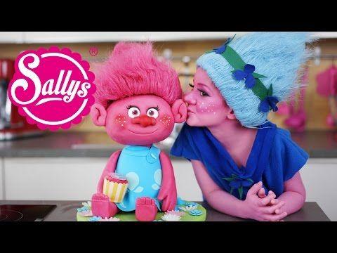 The Trolls Motivtorte / Fondant Cake 3 D - YouTube