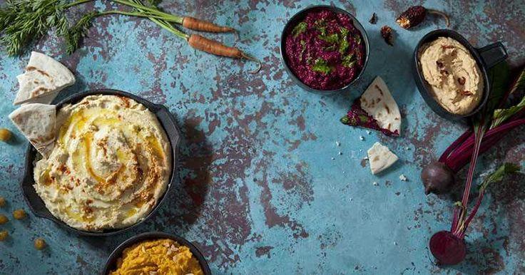 La belleza del hummus. Hummus casero