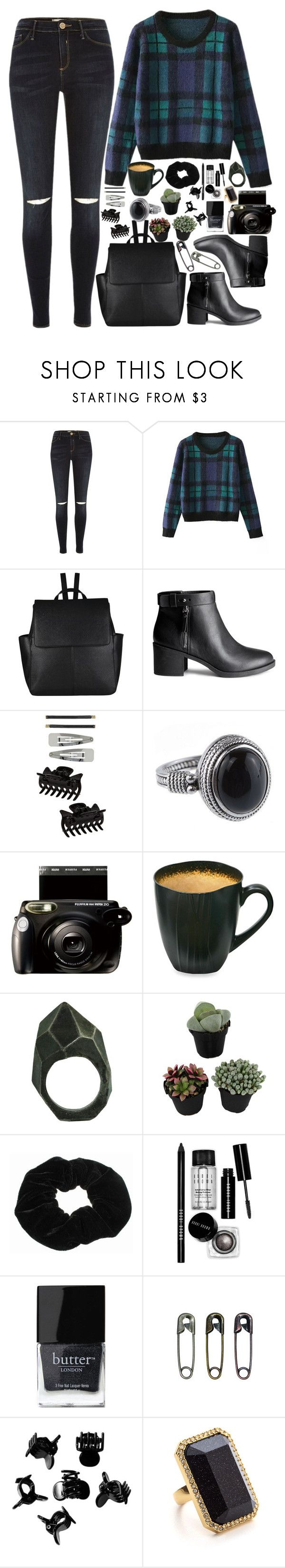 """""""Well, I've lost it all, I'm just a silouhette"""" by annaclaraalvez ❤ liked on Polyvore featuring River Island, Chicnova Fashion, John Lewis, H&M, Dorothy Perkins, Fujifilm, Baum, Lady Grey, Bobbi Brown Cosmetics and Butter London"""