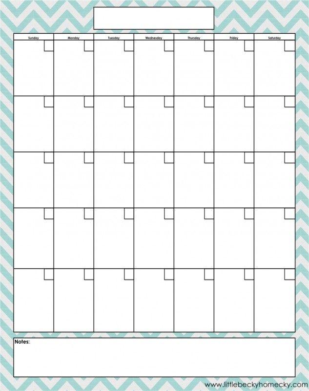 25 best ideas about Monthly Calendar Template – Blank Monthly Calendar