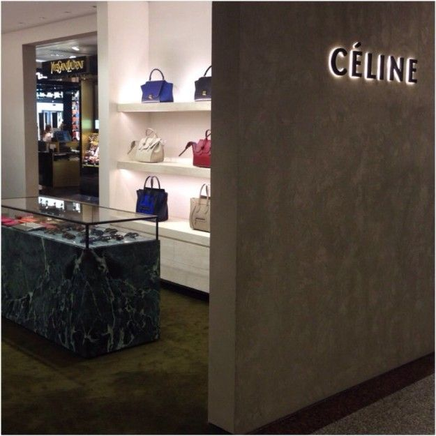 Céline opens first mono-brand space in Madrid at El Corte Inglés of Castellama Department Store in Madrid