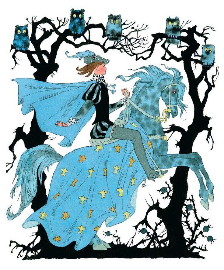 Иллюстрации к сказке «Спящая Красавица»  Иллюстраторы Эрик Булатов и Олег Васильев