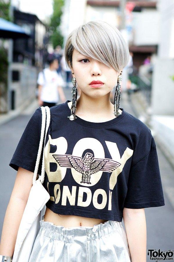 Japanese Fashion Hair Style Pinterest