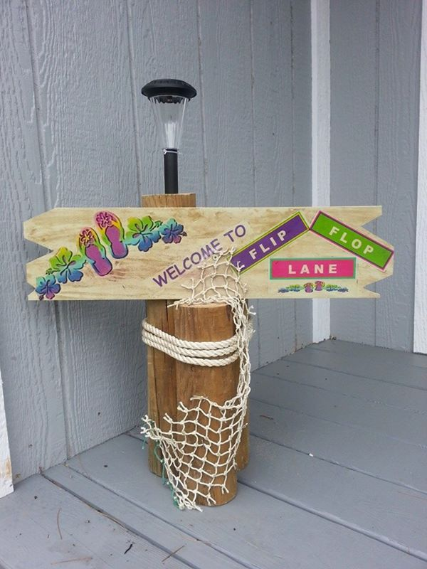 Use This To Decorate Outside Of Rv Or Around Pool Or Patio