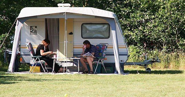 Camping ANWB - Vakantiepark het Stoetenslagh ruime kampeervelden op de camping