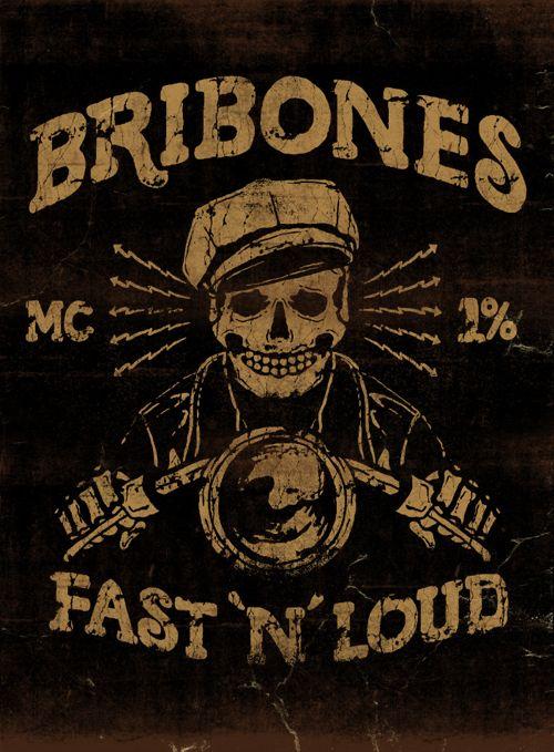 BRIBONES - LA MARCA DEL DIABLO by Maleficio Rodriguez, via Behance