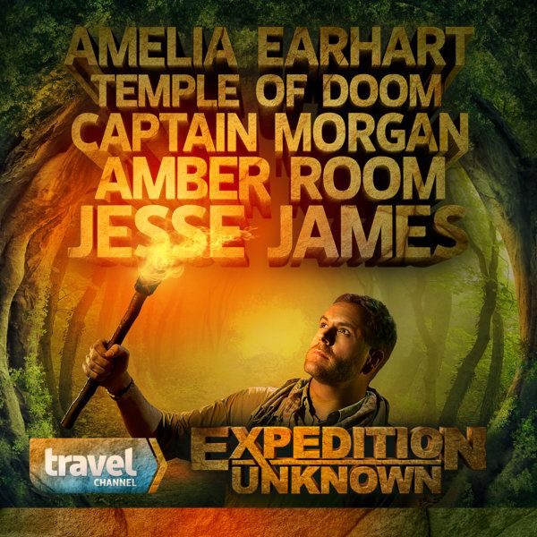 Expedition Unknown with Josh Gates on Travel Channel is a fantastic show combining the updated pursuit of enduring legends and mysteries of history with world wide travel perfectly hosted with and narrated by Josh Gates. Each self contained episode focuses on one mystery, legend, or hunt. A wink is given to theories that might not hold water, an amazing discovery is added to a quite plausible search, or something is added to the cannon of knowledge on the topic. Quite engaging!