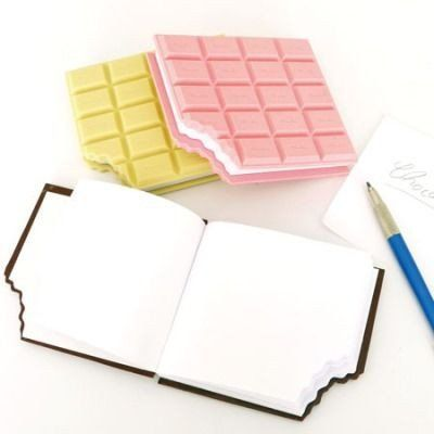 Mini Chocolate Notebook