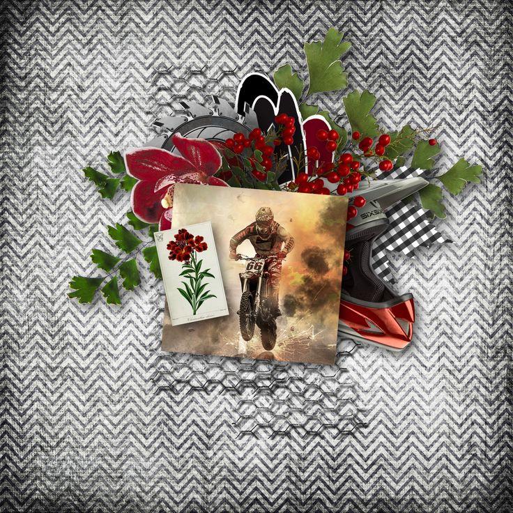 """Black Cherry"" by Scrapbookingdom, https://www.etsy.com/au/listing/570495425/black-cherry-masculine-digital-scrapbook?ref=shop_home_active_1, photo Pixabay"