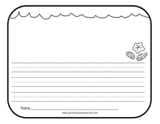 ocean writing paper Trace the shape several times on writing paper (lined or blank) and cut out the   you can also include tips on protecting the ocean habitat.