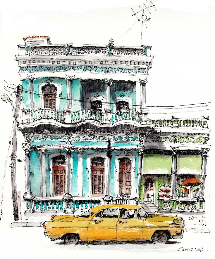 Cienfuegos, Cuba, by Chris Lee