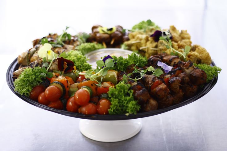 mixed meat platter 180 degrees catering and confectionery www.180degrees.co.za