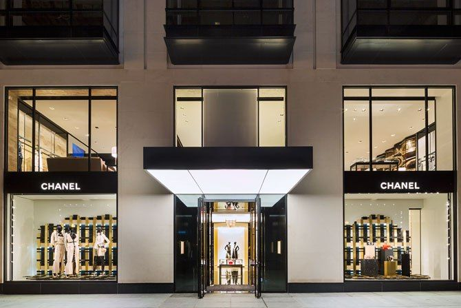 Chanel's new Boston boutique by Peter Marino