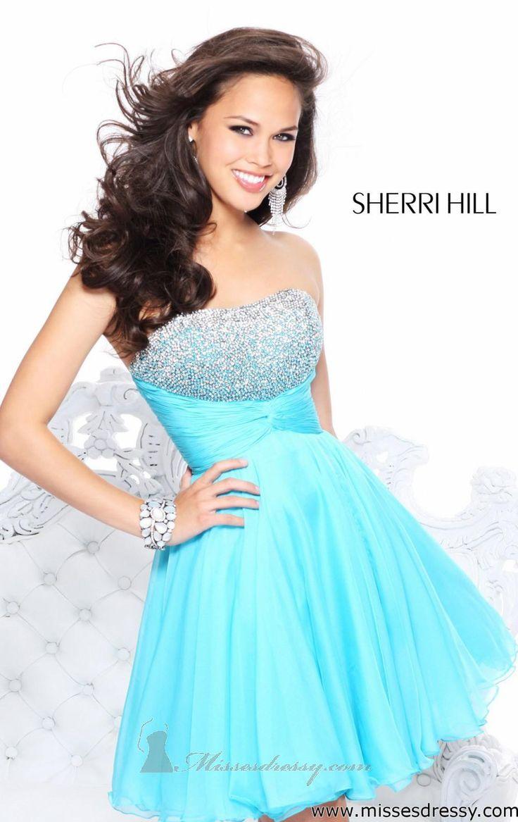 Sherri hill vestidos de noche juvenil