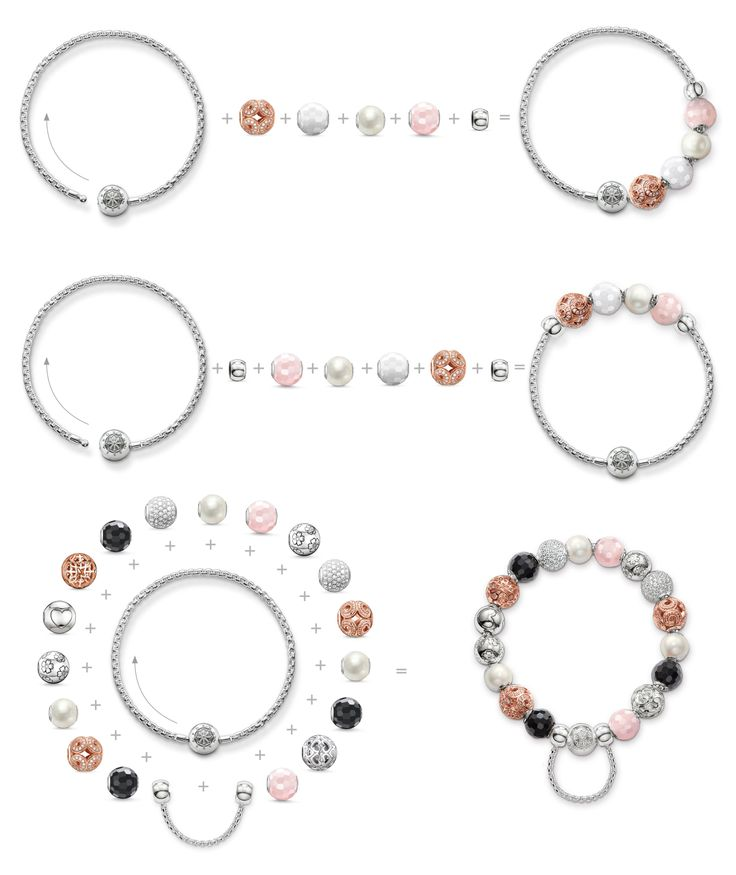 Complementing the Karma Beads, THOMAS SABO has developed two new 925  Sterling silver bracelets which