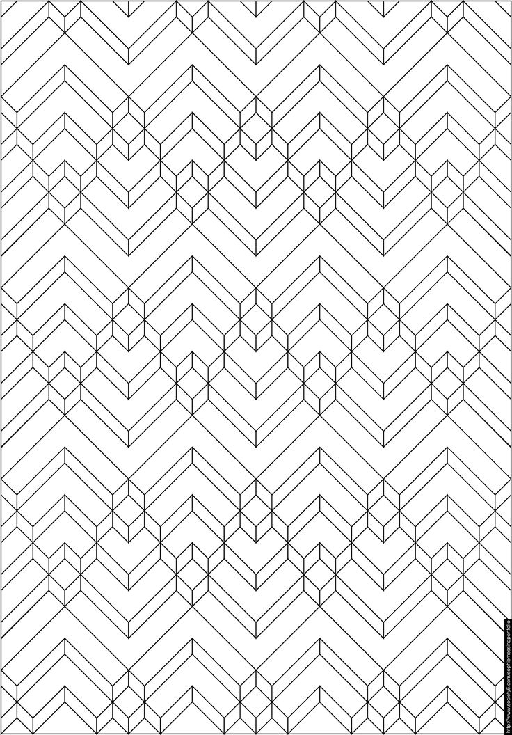 line patterns coloring pages - photo#9