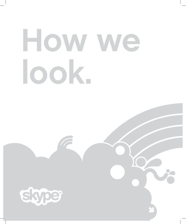Skype Brand Identity Guidelines