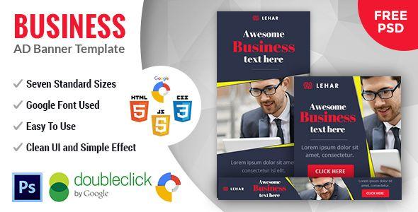 Lehar   Business HTML 5 Animated Google Banner - CodeCanyon Item for Sale
