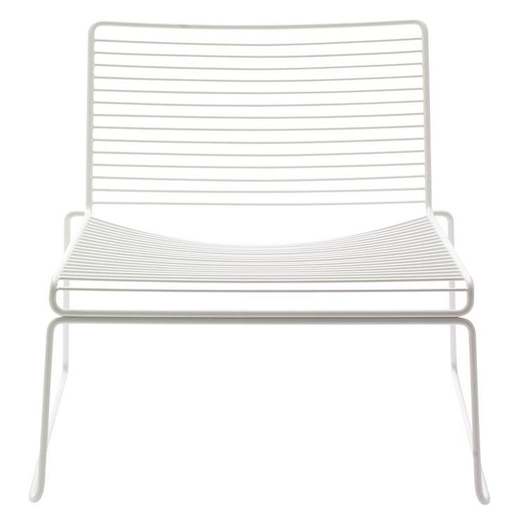 Hee Lounge chair, hvit i gruppen Møbler / Stoler / Stoler hos ROOM21.no (102266)