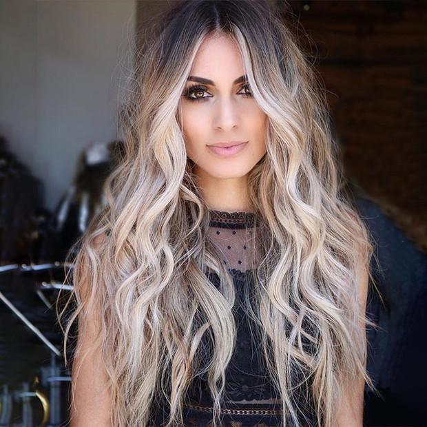 Mild grey wig