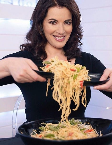 Picture Nigella Lawson On Food Network S Nigella Express Pic Is In A Photo Gallery For Nigella Lawson Featuring 6 Pictures