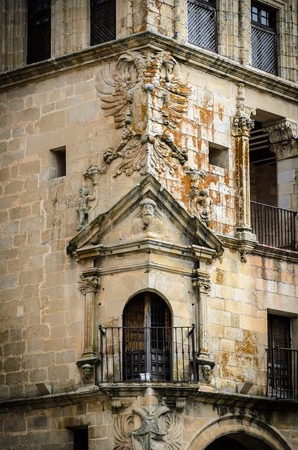 Trujillo Balcony, Extremadura, Spain