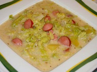 Frankfurti leves recept: A virsli a frankfurti leves lényeges összetevője és ha nem is bécsi virslit használunk készítéséhez, mindenképpen jó minőségű virslit vegyünk hozzá. Egyebet nem is érdemes mondani: finom! :) http://aprosef.hu/frankfurti_leves_recept