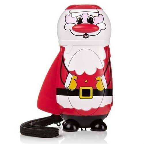 Siz de geceleyin telefon ışığıyla yada mumla mı aydınlanıyorsunuz? Artık Noel Baba El Feneri'yle her daim önünüz aydınlanacak. Noel Baba El Feneri'ndeki kola basıp kinetik enerji yaratarak tüm gece pil bitti derdi olmadan aydınlanabilirsiniz.