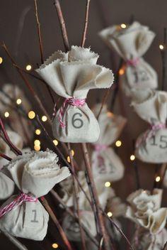 24 idées pour un calendrier de l'avent fait maison