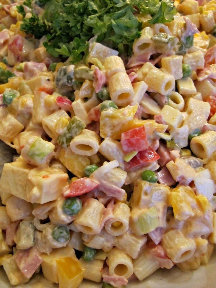 Ruokapankki, Chilipastasalaatti, Pastasalaatti, Salaatti, Joulu, Joulusalaatti, Perinnesalaatti,