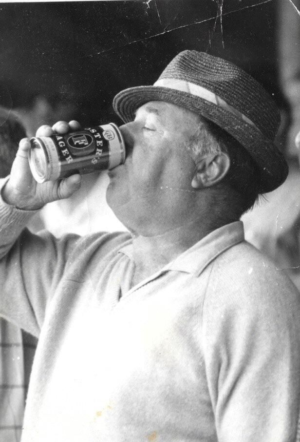 My Grandpa in the 70s at the Boxing Day Test at the MCG Melbourne. Was front cover of The Herald Sun newspaper the following day. http://ift.tt/2zWqIRx