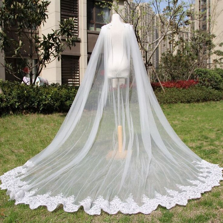 Generous Wedding Bridal Long Cloaks Cape Wraps For Gowns Shawls Boleros Custom…