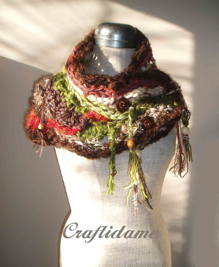 Crochet Contemporary Cowl Neckwarmer