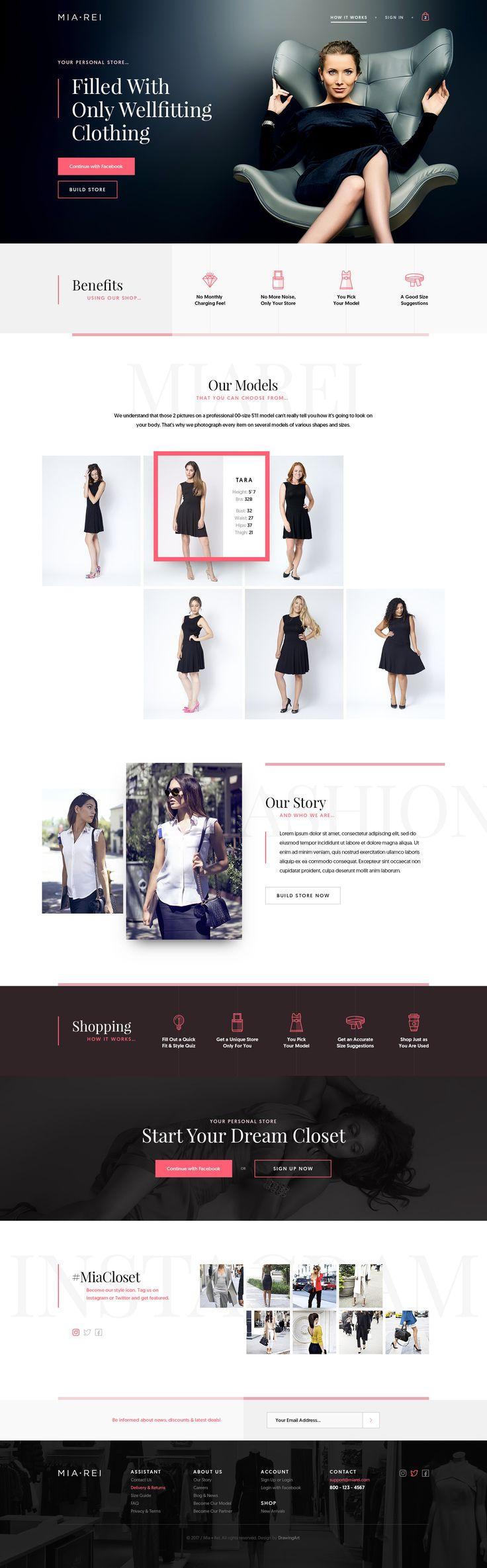 MIA REI https://dribbble.com/shots/3404821-MIA-REI  #drawingart #miarei #dribbble #web #shop #store #personal #wellfitting #clothing #fashion #women #website #webdesign #ui #ux #clean #minimal #responsive