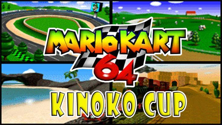 MARIO KART 64 Kinoko Cup Extra (Japan) #04   Goars Gamer   KINOKO CUP (MUSHROOM CUP) 1. LUIGI RECEWAY 2. MOO MOO FARM 3. KOOPA TROOPA BEACH 4. KALIMARI  MARIO KART N64 es uno de mis juegos favoritos, es un videojuego de carreras desarrollado y distribuido por Nintendo para la consola Nintendo 64. Es el sucesor de Super Mario Kart, de la consola Super Nintendo y el segundo juego de la serie Mario Kart.