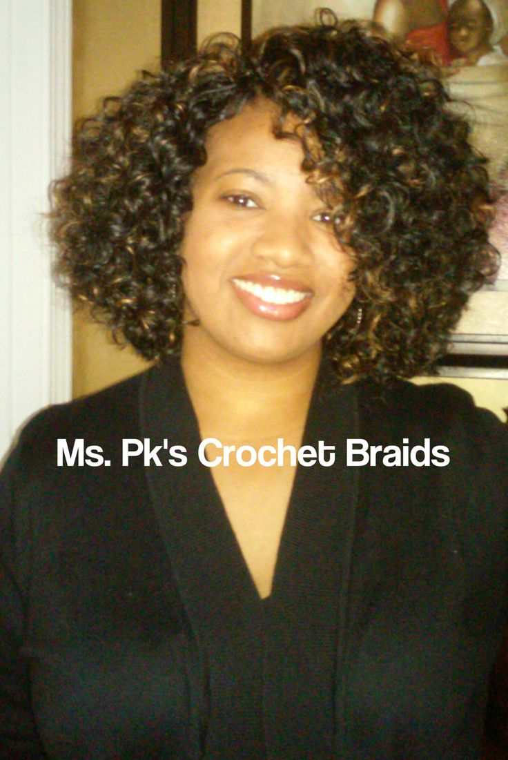 Crochet Hair Install : Crochet braids, Curls and Braids on Pinterest